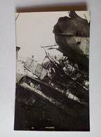 WWI Austria 1916 Postcard K.u.K. Kriegsmarine Torpedoed S.M.S. Csepel In The Dock [AKG1015] - War 1914-18