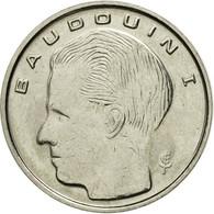 Monnaie, Belgique, Franc, 1991, TTB, Nickel Plated Iron, KM:170 - 1951-1993: Baudouin I