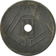 Monnaie, Belgique, 25 Centimes, 1944, TB, Zinc, KM:132 - 1934-1945: Leopold III