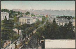 Avenue De Théâtre, Lausanne, Vaud, 1904  - Corbaz & Cie U/B CPA - VD Vaud