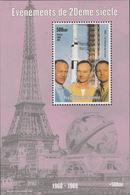 GUINEA - GUINEE 1998 EVENTI DEL XX SECOLO ASTRONAUTI  APOLLO 11 BF MNH ** - Space