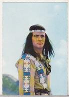 Germany Old Uncirculated Postcard - Movies - Pierre Brice In Winnetou - 1.Teil - - Acteurs