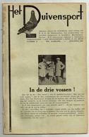 Hove - Het Duivensport   *   5 Maanduitgaves , Aug.,sept., Oct., Nov., Dec. 1946 ( Duivensport - Duiven - Duif - Pigeon) - Hove