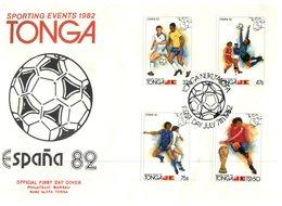 (110) Tonga Espana 82 World Cup Cover - - 1982 – Espagne