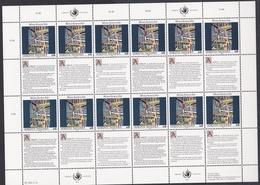 Ei_ UN UNO Wien - Mi.Nr. 139 - 140 - Postfrisch MNH - Kleinbögen - Blocks & Kleinbögen