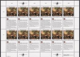 Ei_ UN UNO Wien - Mi.Nr. 150 - 151 - Postfrisch MNH - Kleinbögen - Blocs-feuillets