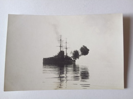 Austria K.u.K. Kriegsmarine Real Photo Postcard SMS Viribus Unitis 1915 [AKG1027] - War 1914-18
