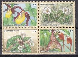 Ei_ UN UNO Wien - Mi.Nr. 205 -  208 - Postfrisch MNH - Kleinbogen - Pflanzen Plants - Blocks & Kleinbögen