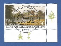 BRD  2002  Mi.Nr. 2253 , UNESCO Kultur- Und Naturerbe Der Menschheit - Gestempelt / Used / (o) - Gebraucht