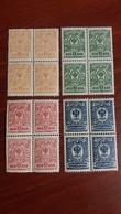 Russia  1908  1911,1917 MNH - 1857-1916 Imperio