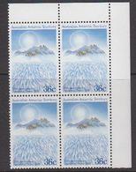 AAT 1986 Antarctic Treaty 1v Bl Of 4 (corner) ** Mnh  (39995) - Australisch Antarctisch Territorium (AAT)