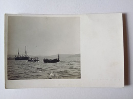 Austria K.u.K. Kriegsmarine Real Photo Postcard SMS Tegetthoff Ca. 1915 [AKG1050] - Guerre 1914-18