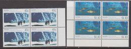 Australia 1990 Antarctica / Joint Issue With USSR  2v Bl Of 4 ** Mnh (39995B) - Australisch Antarctisch Territorium (AAT)