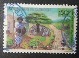 DJIBOUTI 1995 MICHEL MI 615 ARBRE A PALABRES TREE - USED OBLITERE CANCELED OBL U O RARE - Djibouti (1977-...)
