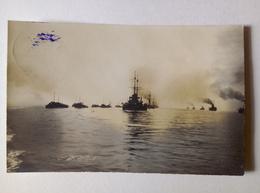 Austria K.u.K. Kriegsmarine Real Photo Postcard Flottenmanöver 1915 [AKG1054] - War 1914-18