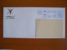 EMA Sur Enveloppe FT 007595 ORVAULT Avec Illustration TERRENA - Marcophilie (Lettres)