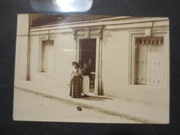 33 - Bordeaux - Photo Originale - Bordelaises Devant Leur Domicile  - 1902 - B.E - - Luoghi