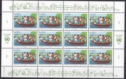 Ei_ UN UNO Genf - Mi.Nr. 158 -  159 - Postfrisch MNH - Kleinbögen - Geneva - United Nations Office