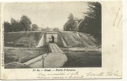 Diest : Porte D'Anvers. Carte Partiellement Déchirée - Diest