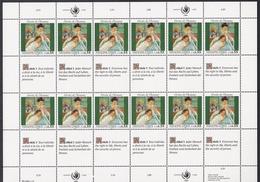 Ei_ UN UNO Genf - Mi.Nr. 180 - 181 - Postfrisch MNH - Kleinbögen - Office De Genève
