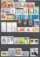 Costa Rica - 1984 - > 1990 - Lots Timbres Et Poste Aérienne - ** - * TC Et Oblitérés - Nºs Dans Description - Costa Rica
