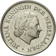 Monnaie, Pays-Bas, Juliana, 25 Cents, 1967, TTB, Nickel, KM:183 - [ 3] 1815-… : Kingdom Of The Netherlands