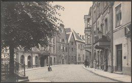 Pikk Tanav, Tallinn, Harju, 1926  - Parikas Foto Postkaart - Estonia