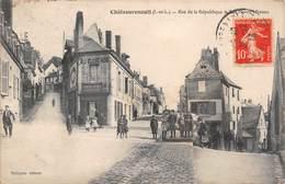 CHATEAURENAULT - Rue De La République Et Rue Pierre Moreau - Andere Gemeenten