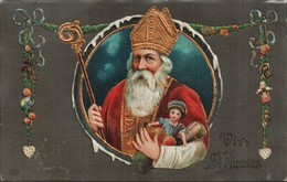 St Nicolas Gauffree Avec Jouets - Saint-Nicholas Day