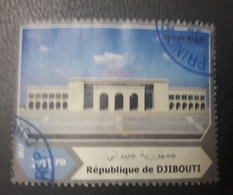 DJIBOUTI 2017 GARE STATION - USED OBLITERE CANCELED OBL U O RARE - Djibouti (1977-...)