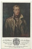 S.M. Albert 1er, Roi Des Belges - Familles Royales