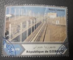 DJIBOUTI 2017 RESEAU CATENAIRE - USED OBLITERE CANCELED OBL U O RARE - Djibouti (1977-...)