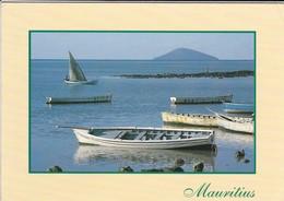 MAURICE--MAURITIUS--ile Ronde Vue De Grand Gaube--voir 2 Scans - Maurice