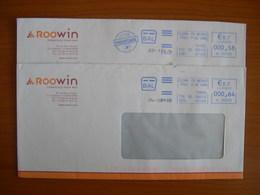 EMA Sur Enveloppe HL 033335 CLERMONT FERRAND Avec Illustration ROOWIN - Marcophilie (Lettres)