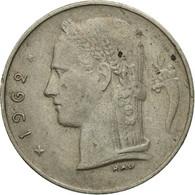 Monnaie, Belgique, Franc, 1962, TB+, Copper-nickel, KM:142.1 - 1951-1993: Baudouin I