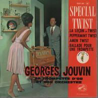 Disque 45 Tours GEORGES JOUVIN - 1962 - Spécial Twist - Instrumental