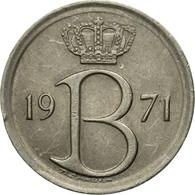 Monnaie, Belgique, 25 Centimes, 1971, Bruxelles, TTB, Copper-nickel, KM:153.1 - 02. 25 Centimes