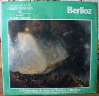 33 TOURS N°41 VINYLE GRANDS MUSICIENS 1 LIVRE+1 DISQUE 1990 BERLIOZ LA DAMNATION DE FAUST LES TROYENS LE ROI - Serbon63 - Classical