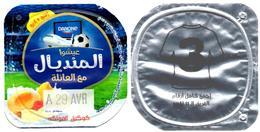 "Opercule Cover Yaourt Yogurt "" Danone "" Mondial Russia 2018 - N°3 - Yoghourt Yahourt Yogourt Mundial Football FIFA W.Cup - Opercules De Lait"