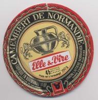 Etiquette De Camembert - Elle Et Vire - Camembert  De Normandie -  Condé Sur Vire - Fromage