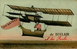 Duclair - Souvenir De La Ville - Avion Aviation - Un Baiser ! - AA48 - Duclair
