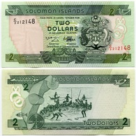 Solomon Islands - 2 Dollars - Salomons