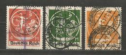 DR   - Mi 135 - 136 - 137   - D 2601 - Deutschland