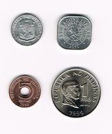 &   PILIPINAS  2 X1 SENTIMO  5 SENTIMOS 1  PISO  1969/1975/1999 - Philippines