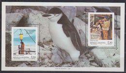Argentina 1987 Antarctica / 25th. Anniversary Of The Antarctic Treaty M/s ** Mnh (40000) - Argentinië