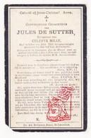 DP Krijgsgevangene WO I 14-18 Jules De Sutter ° St.-Laureins 1882 † 1921  X C Mille / Beleg Belegering Antwerpen PFA VSA - Santini