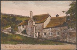 Sea Side Farm, Branscombe, Devon, 1920  - Frith's Postcard - England