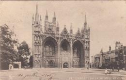 PETERSBOROUGH - Cathedral West, Gel.1906 - England