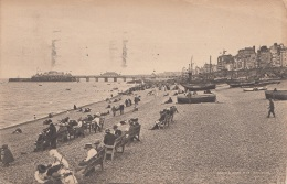 BRIGHTON - BEACH And WEST PIER, Gel.1931 - England