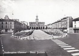 CARTOLINA - POSTCARD - CREMONA - CASALMAGGIORE - PIAZZA GARIBALDI - Cartoline
